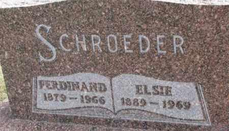 SCHROEDER, ELSIE - Dixon County, Nebraska   ELSIE SCHROEDER - Nebraska Gravestone Photos