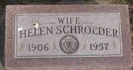 SCHROEDER, HELEN - Dixon County, Nebraska | HELEN SCHROEDER - Nebraska Gravestone Photos