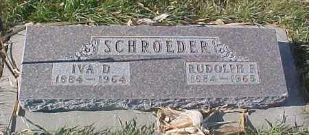 SCHROEDER, RUDOLPH E. - Dixon County, Nebraska | RUDOLPH E. SCHROEDER - Nebraska Gravestone Photos