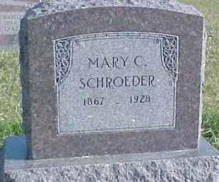 SCHROEDER, MARY C. - Dixon County, Nebraska | MARY C. SCHROEDER - Nebraska Gravestone Photos