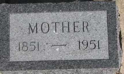 SCHROEDER, MOTHER - Dixon County, Nebraska | MOTHER SCHROEDER - Nebraska Gravestone Photos