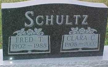 SCHULTZ, CLARA C. - Dixon County, Nebraska | CLARA C. SCHULTZ - Nebraska Gravestone Photos
