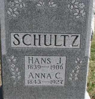 SCHULTZ, ANNA C. - Dixon County, Nebraska | ANNA C. SCHULTZ - Nebraska Gravestone Photos