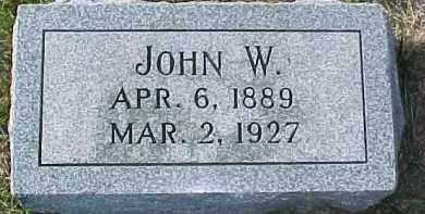 SCHULTZ, JOHN W. - Dixon County, Nebraska | JOHN W. SCHULTZ - Nebraska Gravestone Photos