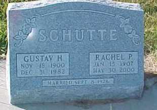 SCHUTTE, GUSTAV H. - Dixon County, Nebraska | GUSTAV H. SCHUTTE - Nebraska Gravestone Photos