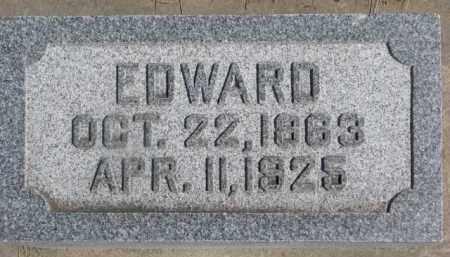 SCHWARTEN, EDWARD - Dixon County, Nebraska   EDWARD SCHWARTEN - Nebraska Gravestone Photos