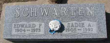 SCHWARTEN, SADIE A. - Dixon County, Nebraska | SADIE A. SCHWARTEN - Nebraska Gravestone Photos