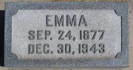 SCHWARTEN, EMMA - Dixon County, Nebraska | EMMA SCHWARTEN - Nebraska Gravestone Photos