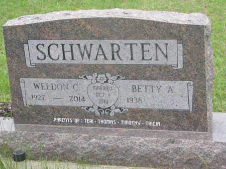 SCHWARTEN, WELDON C. - Dixon County, Nebraska | WELDON C. SCHWARTEN - Nebraska Gravestone Photos