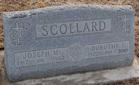 SCOLLARD, JOSEPH M. - Dixon County, Nebraska | JOSEPH M. SCOLLARD - Nebraska Gravestone Photos