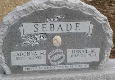 SEBADE, DENSIL M. - Dixon County, Nebraska | DENSIL M. SEBADE - Nebraska Gravestone Photos