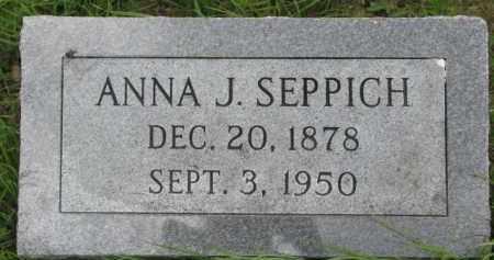 SEPPICH, ANNA J. - Dixon County, Nebraska   ANNA J. SEPPICH - Nebraska Gravestone Photos