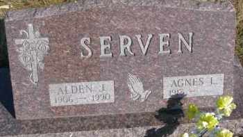 SERVEN, ALDEN J. - Dixon County, Nebraska   ALDEN J. SERVEN - Nebraska Gravestone Photos