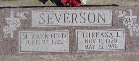 SEVERSON, THREASA L. - Dixon County, Nebraska   THREASA L. SEVERSON - Nebraska Gravestone Photos