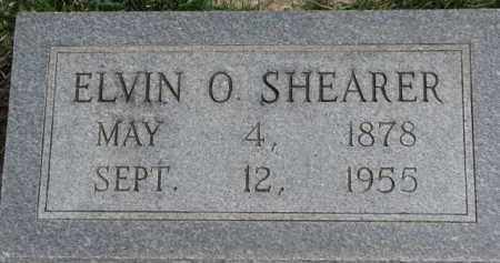 SHEARER, ELVIN O. - Dixon County, Nebraska | ELVIN O. SHEARER - Nebraska Gravestone Photos