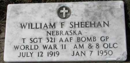 SHEEHAN, WILLIAM F. - Dixon County, Nebraska | WILLIAM F. SHEEHAN - Nebraska Gravestone Photos