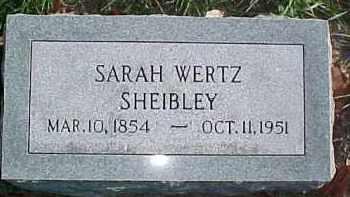 SHEIBLEY, SARAH - Dixon County, Nebraska   SARAH SHEIBLEY - Nebraska Gravestone Photos