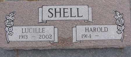 SHELL, HAROLD - Dixon County, Nebraska | HAROLD SHELL - Nebraska Gravestone Photos