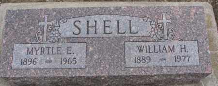 SHELL, MYRTLE E. - Dixon County, Nebraska   MYRTLE E. SHELL - Nebraska Gravestone Photos