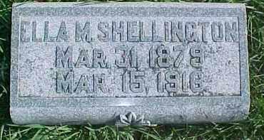 SHELLINGTON, ELLA M. - Dixon County, Nebraska | ELLA M. SHELLINGTON - Nebraska Gravestone Photos