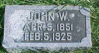 SHELLINGTON, JOHN W. - Dixon County, Nebraska   JOHN W. SHELLINGTON - Nebraska Gravestone Photos