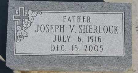 SHERLOCK, JOSEPH V. - Dixon County, Nebraska | JOSEPH V. SHERLOCK - Nebraska Gravestone Photos