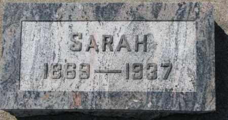 SHERLOCK, SARAH - Dixon County, Nebraska   SARAH SHERLOCK - Nebraska Gravestone Photos