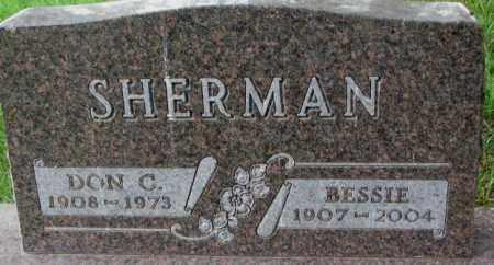 SHERMAN, DON C. - Dixon County, Nebraska | DON C. SHERMAN - Nebraska Gravestone Photos