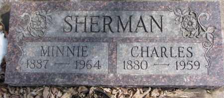 SHERMAN, MINNIE - Dixon County, Nebraska | MINNIE SHERMAN - Nebraska Gravestone Photos