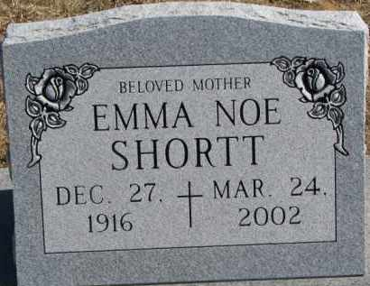 SHORTT, EMMA - Dixon County, Nebraska | EMMA SHORTT - Nebraska Gravestone Photos