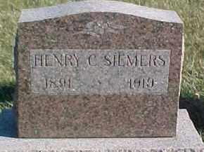 SIEMERS, HENRY C. - Dixon County, Nebraska | HENRY C. SIEMERS - Nebraska Gravestone Photos