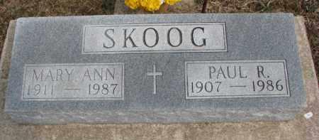 SKOOG, PAUL R. - Dixon County, Nebraska | PAUL R. SKOOG - Nebraska Gravestone Photos