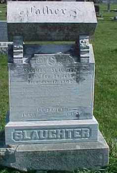 SLAUGHTER, ELIZABETH - Dixon County, Nebraska | ELIZABETH SLAUGHTER - Nebraska Gravestone Photos