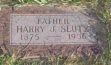 SLUTZ, HARRY J. - Dixon County, Nebraska   HARRY J. SLUTZ - Nebraska Gravestone Photos