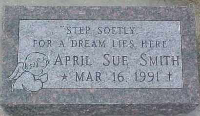 SMITH, APRIL SUE - Dixon County, Nebraska | APRIL SUE SMITH - Nebraska Gravestone Photos