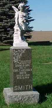 SMITH, DONALD EARL - Dixon County, Nebraska | DONALD EARL SMITH - Nebraska Gravestone Photos