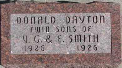 SMITH, DONALD - Dixon County, Nebraska | DONALD SMITH - Nebraska Gravestone Photos