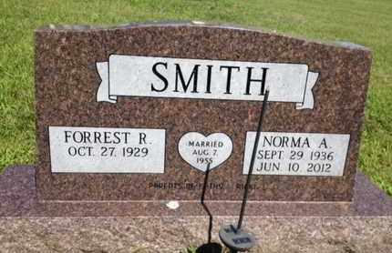 SMITH, FORREST R. - Dixon County, Nebraska | FORREST R. SMITH - Nebraska Gravestone Photos