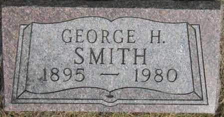 SMITH, GEORGE H. - Dixon County, Nebraska | GEORGE H. SMITH - Nebraska Gravestone Photos