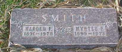 SMITH, MYRTLE F. - Dixon County, Nebraska | MYRTLE F. SMITH - Nebraska Gravestone Photos