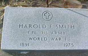 SMITH, HAROLD F.  (WW 1 MARKER) - Dixon County, Nebraska | HAROLD F.  (WW 1 MARKER) SMITH - Nebraska Gravestone Photos