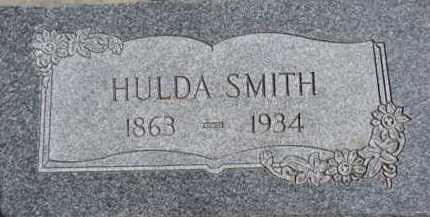 SMITH, HULDA - Dixon County, Nebraska | HULDA SMITH - Nebraska Gravestone Photos