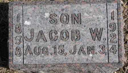SMITH, JACOB W. - Dixon County, Nebraska | JACOB W. SMITH - Nebraska Gravestone Photos