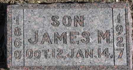 SMITH, JAMES M. - Dixon County, Nebraska | JAMES M. SMITH - Nebraska Gravestone Photos