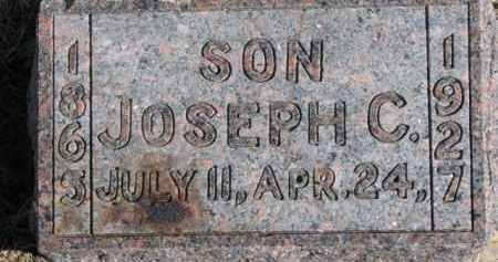 SMITH, JOSEPH C. - Dixon County, Nebraska | JOSEPH C. SMITH - Nebraska Gravestone Photos