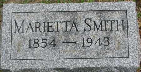 SMITH, MARIETTA - Dixon County, Nebraska | MARIETTA SMITH - Nebraska Gravestone Photos