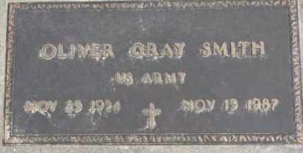 SMITH, OLIVER GRAY - Dixon County, Nebraska | OLIVER GRAY SMITH - Nebraska Gravestone Photos