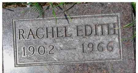 SMITH, RACHEL EDITH - Dixon County, Nebraska | RACHEL EDITH SMITH - Nebraska Gravestone Photos