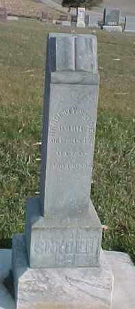 SNYDER, HARDESTY - Dixon County, Nebraska | HARDESTY SNYDER - Nebraska Gravestone Photos