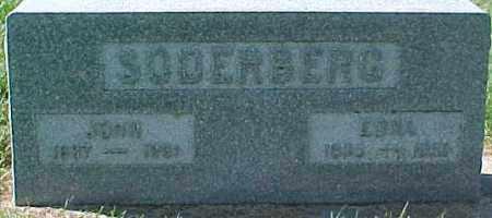 SODERBERG, EDNA - Dixon County, Nebraska   EDNA SODERBERG - Nebraska Gravestone Photos